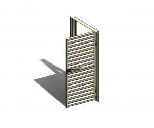 Porta e Venezianas para uso em Subestação de Energia