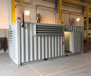 Container insonorizado 75dBA @ 1,5m para Gerador Cummins 260kVA.